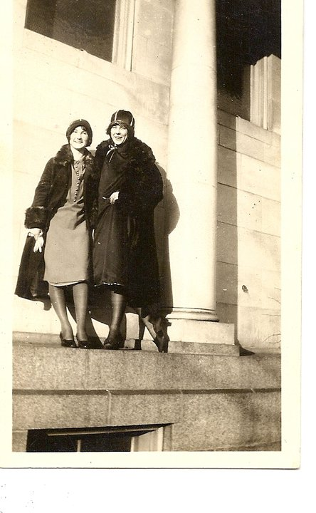 Grandma and her cousin in the 20s