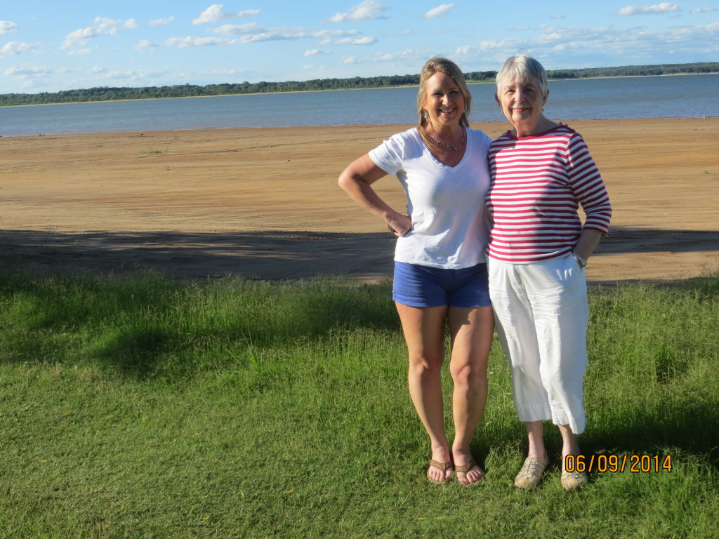 Mom and Me, Lake Texoma, 2014