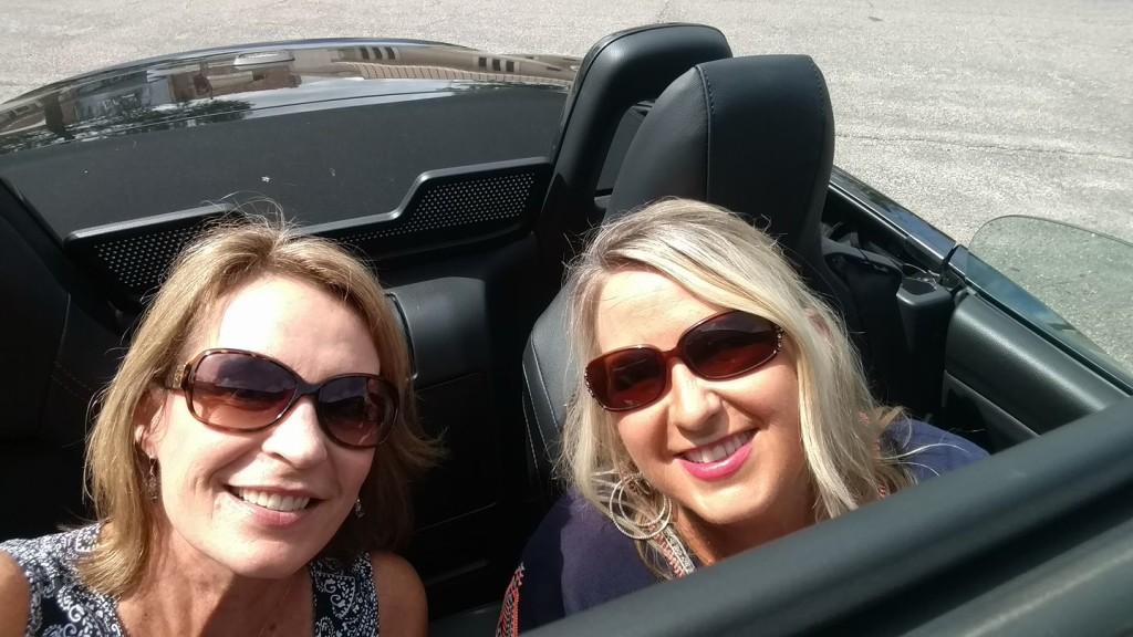 Sisters weekend 2017, Susan and me